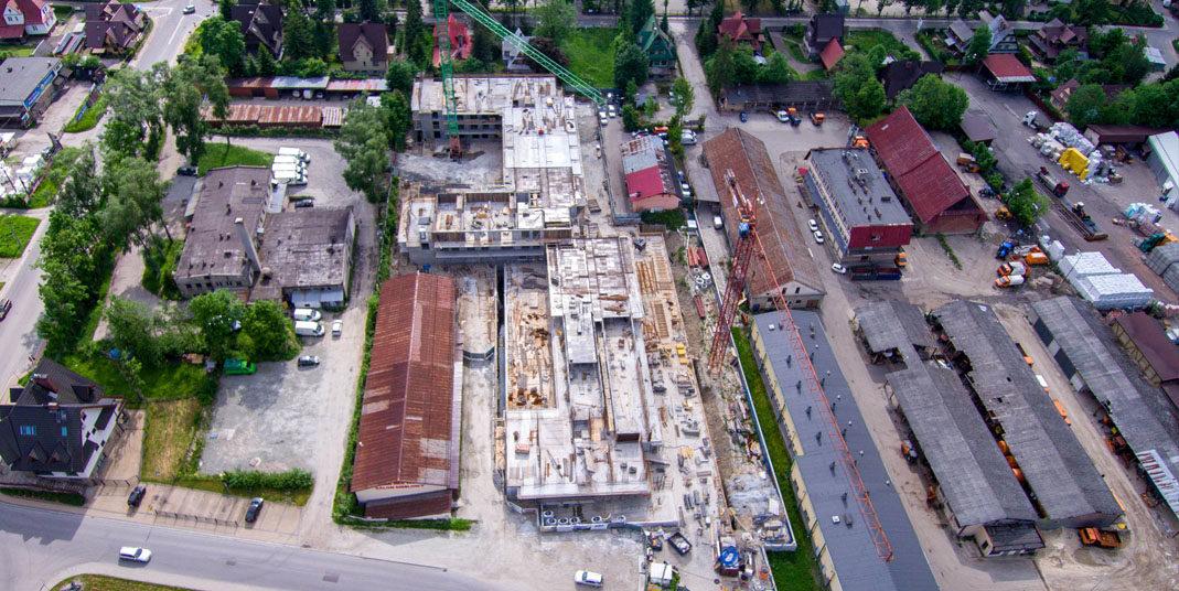 Budowa przy ulicy Szymony w Zakopanem