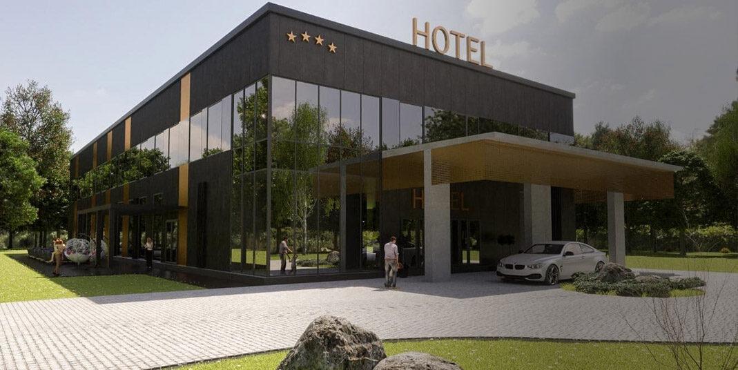 Budowa hotelu