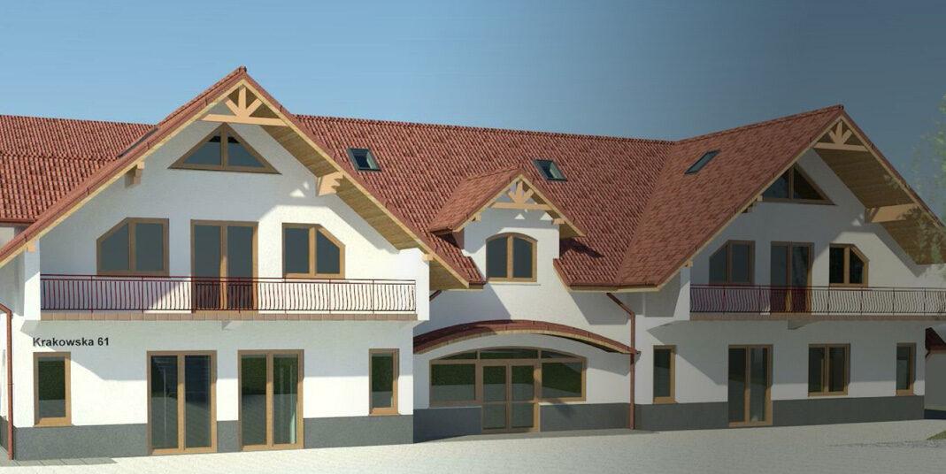 Rozbudowa budynku usługowego wraz z infrastrukturą techniczną